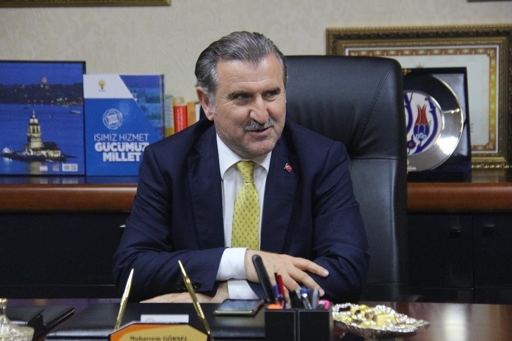 BAKAN AŞKIN BAK'TAN RIZA KAYAALP'E TEBRİK
