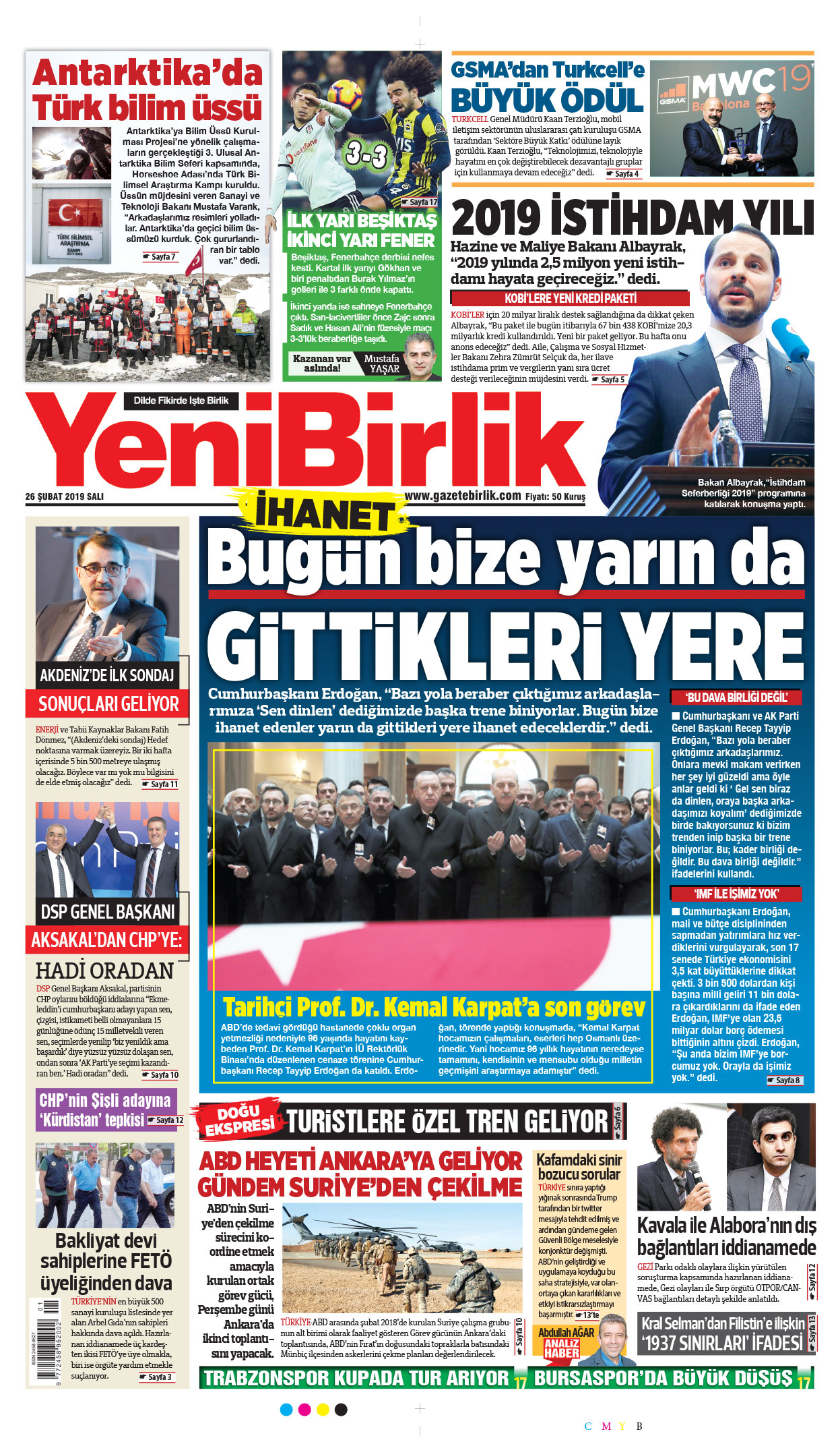 ABD-Türkiye Suriye Çalışma Grubu 3. Toplantısı yarın Ankarada 1